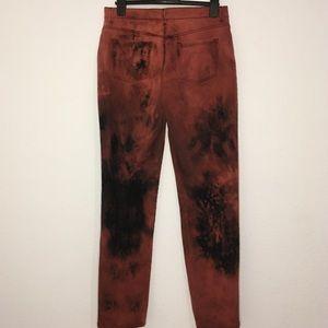 Unique bleach jeans